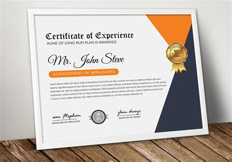 word format certificate template stationery templates