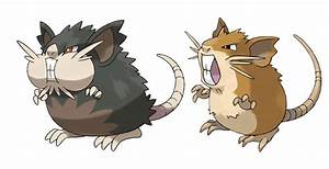 Raticate Has Put On A Ton Of Weight In Pokemon Moon And Sun