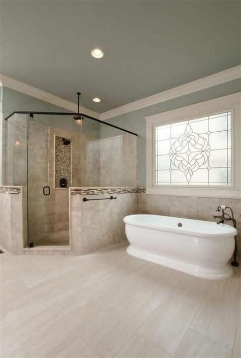 relaxing luxury master bathroom design ideas