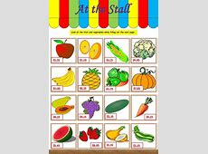 Worksheet Vegetables Same And Different Preschool Primary