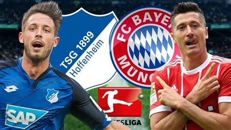 Title hopefuls bayern munich take on a resurgent hoffenheim side at the allianz arena. FC Bayern Munich vs TSG 1899 Hoffenheim- Bundesliga ...