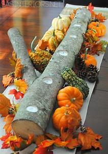 Tischdeko Selber Machen Herbst : 15 herbst tischdeko ideen zum selber machen tischschmuck basteln diy deko ideen deko ~ Orissabook.com Haus und Dekorationen