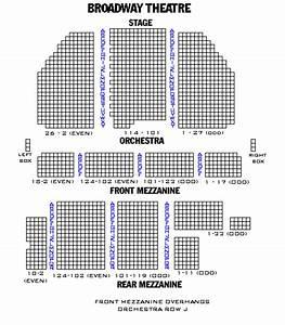 Palace Theatre Seating Chart Broadway