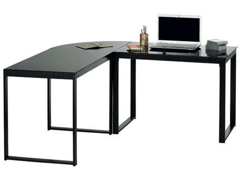 bureau angle noir bureau d 39 angle blacky coloris noir vente de bureau
