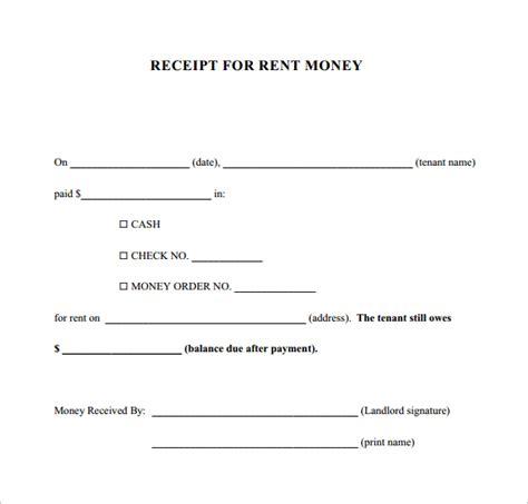 18+ Money Receipt Templates  Doc, Pdf  Free & Premium