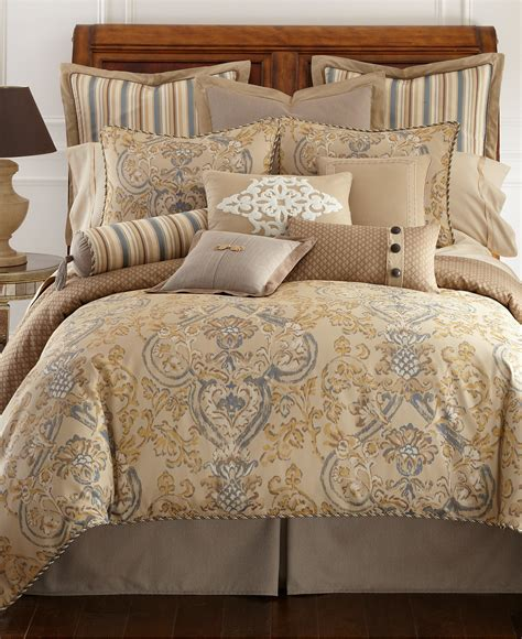 macy s bed comforters waterford harrison king comforter bedding collections