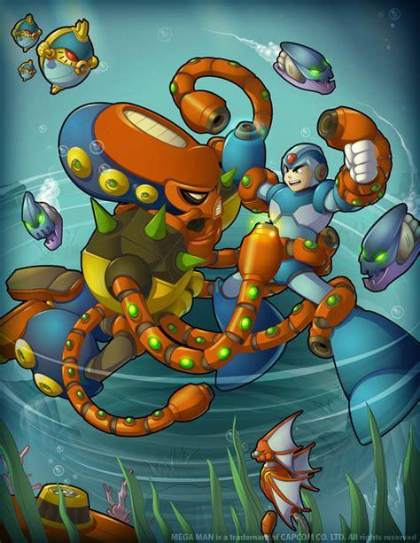 Megaman Tribute Water Tango By Gamesalad On Deviantart