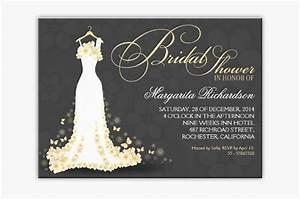 read more elegant floral bride dress bridal shower With elegant wedding shower invitations
