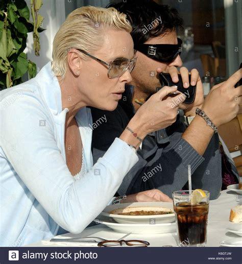 Brigitte Nielsen and Mattia Dessi Brigitte Nielsen has