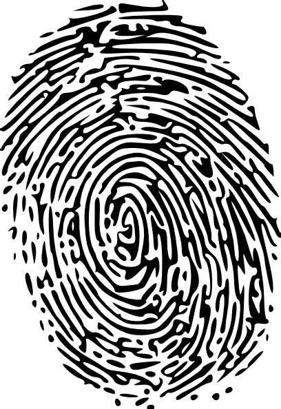 Fingerprint Clipart Fingerprint Clip At Clker Vector Clip