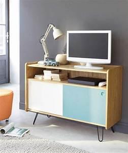 Meuble Tv Petit : petit meuble tv haut id es de d coration int rieure french decor ~ Teatrodelosmanantiales.com Idées de Décoration