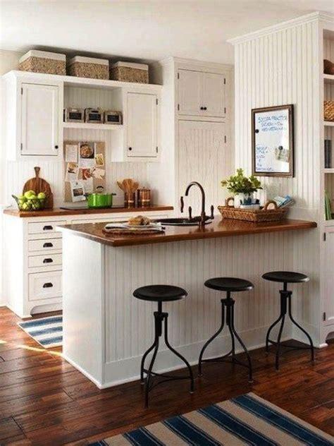 ideas de como decorar una cocina pequena  poco
