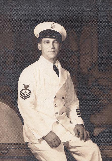 life long sailor  studio portrait chief petty