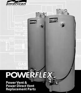 American Water Heater Powerflex Pdvg 40t42 Users Manual Pv