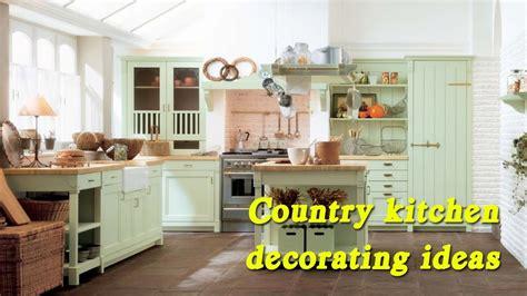 country kitchen decorating ideas vintage kitchen