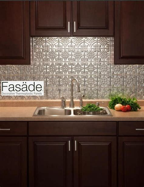 kitchen backsplash home depot quot fasade quot backsplash and easy to install great