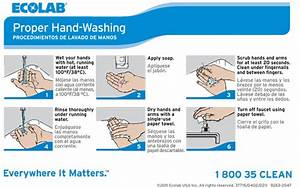 Keystone Handwashing Procedures Wall Chart