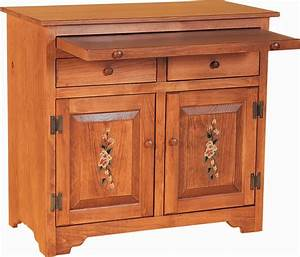 Amish Pine Microwave Stand Amish Microwave Stands 8365