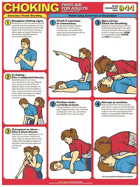 reference chart choking  aid  adults