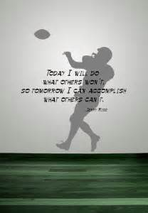 Jerry Rice Football Inspirational Quote