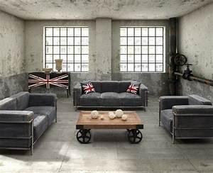 15, Stunning, Industrial, Living, Room, Designs