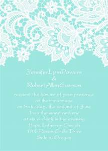 elegant tiffany blue lace wedding invitations EWI335 as ...