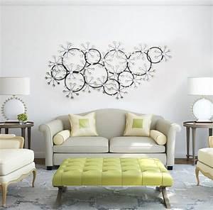 Deco Murale Metal : decoration murale design salon ~ Voncanada.com Idées de Décoration