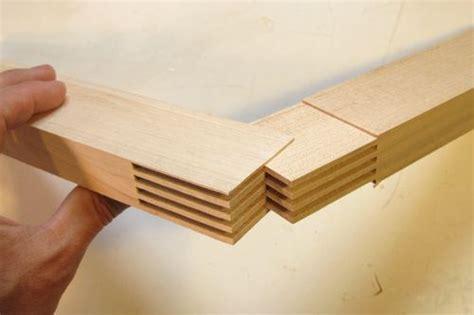 making wooden  squares