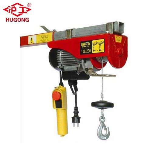 Electric Hoist Motor by China Products 220v Mini Electric Wire Rope Hoist Motor