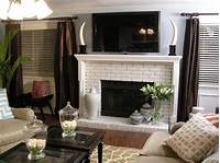 how to build a fireplace How to Build a New Fireplace Surround and Mantel | HGTV