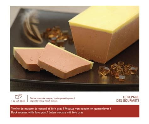 mousse de canard au foie gras 1 kg