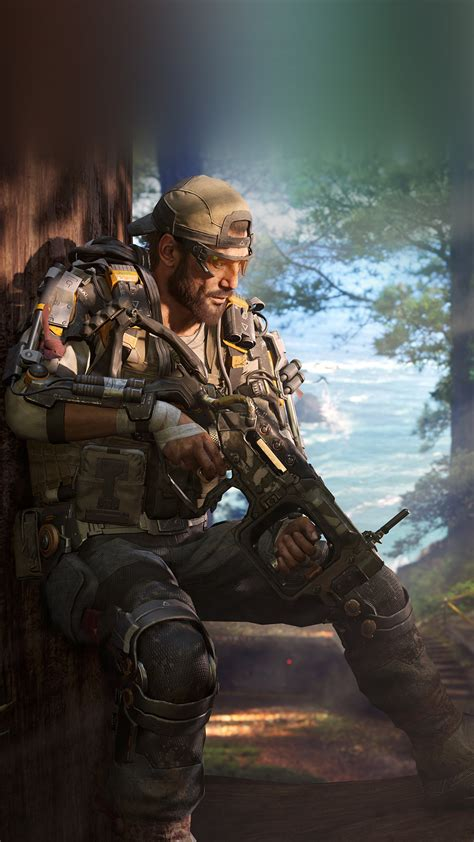 ar call  duty blackops game illustration art wallpaper