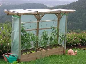 Holz überdachung Garten : tomatenbeet mit berdachung aus kesseldruckimpr gniertem holz garten pinterest ~ Whattoseeinmadrid.com Haus und Dekorationen