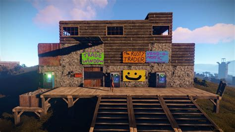 games building rust pc signs friendly shack