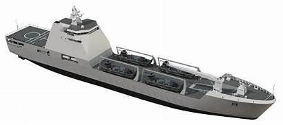 Damen 120 Landing Ship Transport Lst Naval