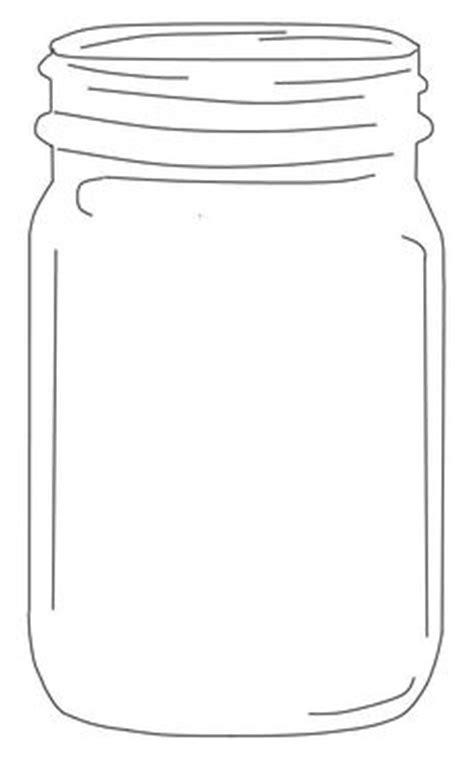 mason jar template large shapes  templates