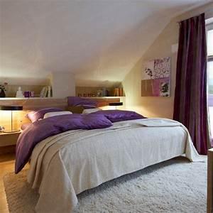 Bett Unter Dachschräge : wohnideen schlafzimmer dachschr ge ~ Lizthompson.info Haus und Dekorationen