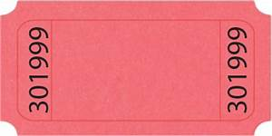 Pink Raffle Tickets Standard Blank Roll Ticket Us Ticket Com