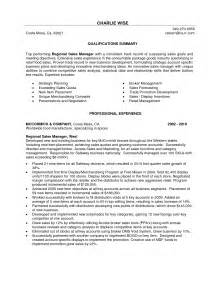 manager resume summary district sales manager resume summary sle cover letter for regional manager resume resume