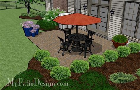 Diy Paver Patio Design