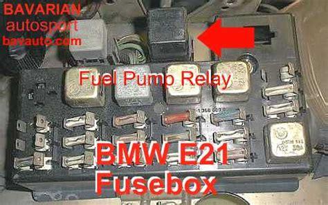 bmw  fuel pump relay     bavarian autosport blog