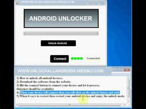 android unlock android unlock code