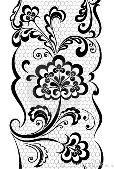 Seamless Lace Pattern Royalty Free Stock Photography