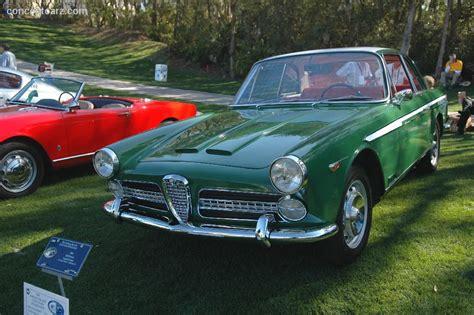1960 Alfa Romeo 2000 Image. Chassis Number Ar102.02.0019