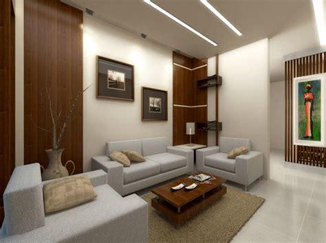 contoh gambar desain interior ruang keluarga  desain