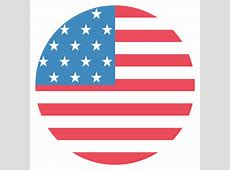 United States of America Flag Vector Emoji Icon Free