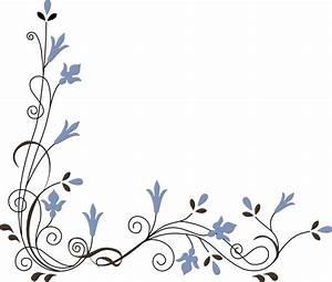 Flower Corner Clip Art at Clker.com - vector clip art ...