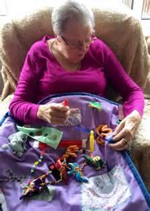 Fidget Blankets for Dementia Patients