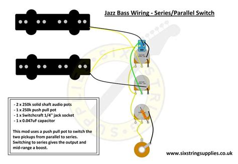 Jazz Bass Wiring Diagram With Series Parallel Switch Push
