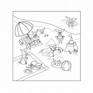 Dessin De Piscine : coloriage piscine playmobil plage 16 nature coloriages ~ Melissatoandfro.com Idées de Décoration